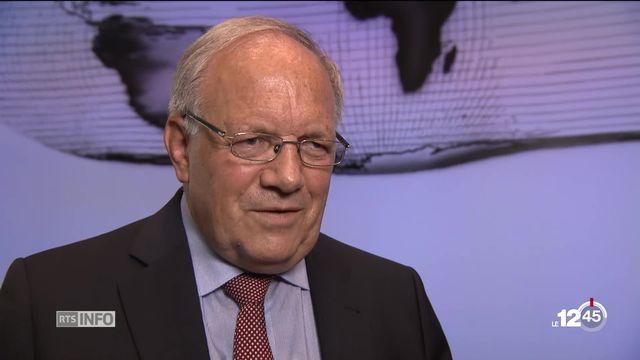 Souveraineté alimentaire : l'initiative du 23 septembre est qualifiée de dangereuse et superflue par Johann Schneider-Ammann [RTS]