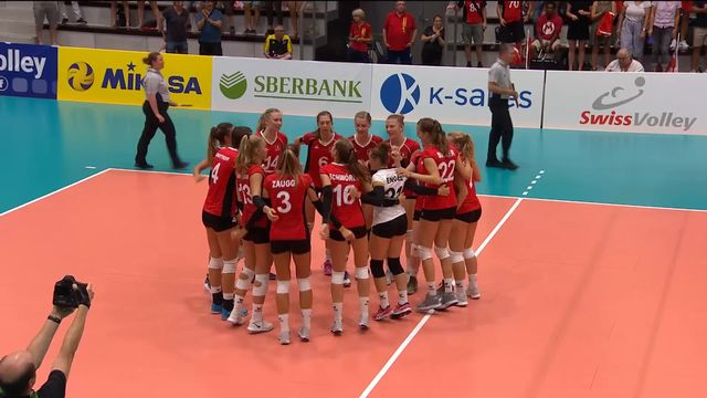 Volleyball, dames, qualification Championnat d'Europe: la Suisse bat l'Albanie 3 sets à 0 [RTS]