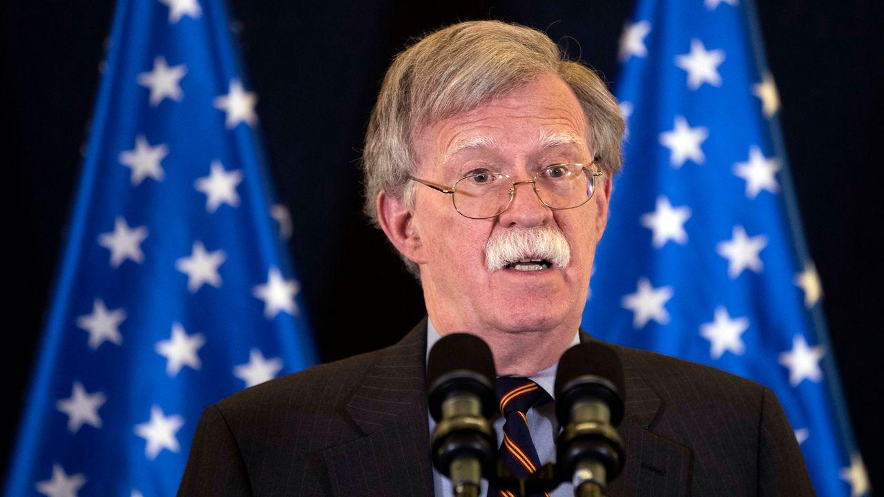 John Bolton, conseiller à la sécurité nationale de Donald Trump, photographié le 22 août 2018. [Abir Sultan - AP/Keystone]
