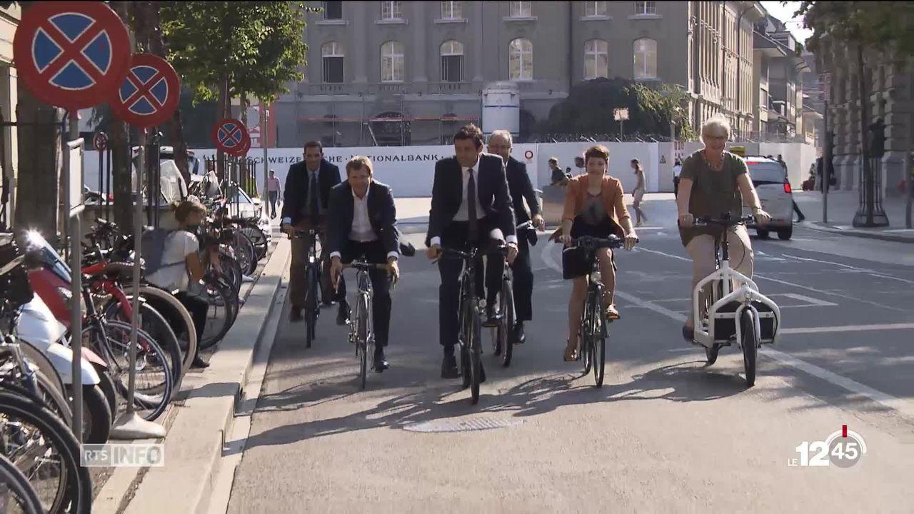 Mobilité douce : l'avenir fédéral du vélo [RTS]