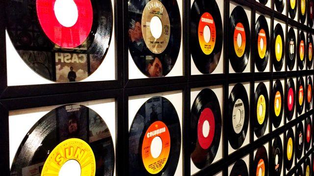 Les vinyles de nos chères années 80. [RTS]