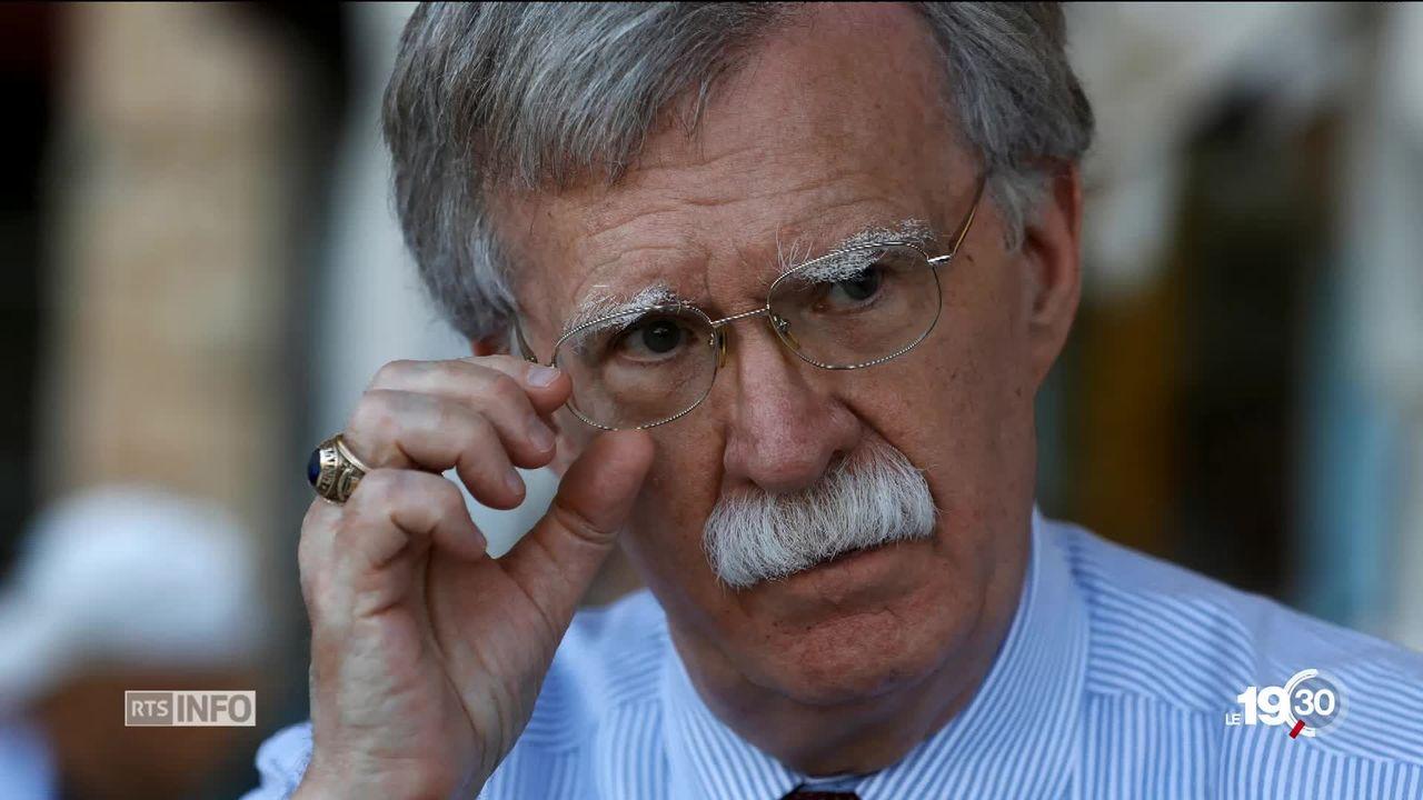 John Bolton : portrait d'un conseiller très conservateur de Trump [RTS]