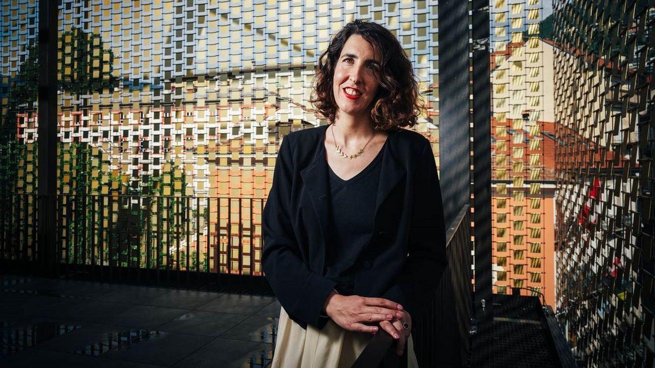 Lili Hinstin prendra la succession de Carlo Chatrian en décembre. [Filmfestival Locarno/Keystone]