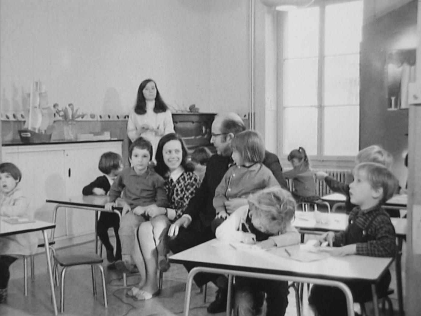 Au jardin d'enfants