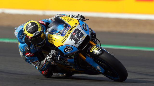 Lüthi a une belle occasion de marquer ses premiers points en MotoGP dimanche. [Tim Keeton - Keystone]