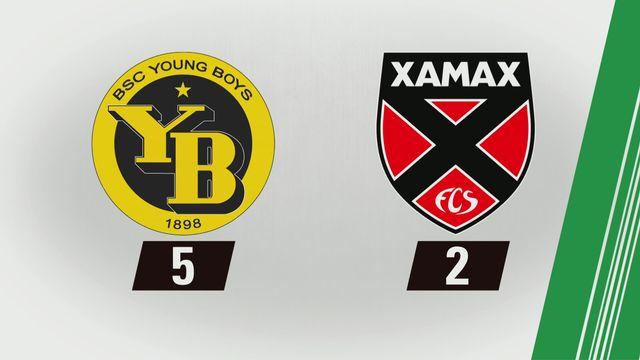 Young Boys - NE Xamax FCS (5-2): Tous les buts [RTS]