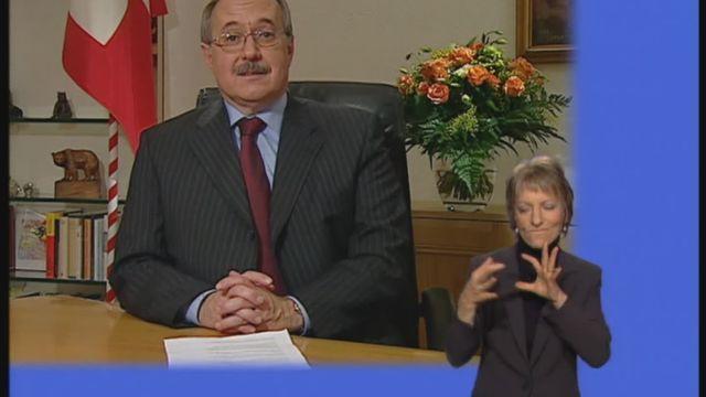 Allocution de Samuel Schmid le 1er janvier 2005 [RTS]