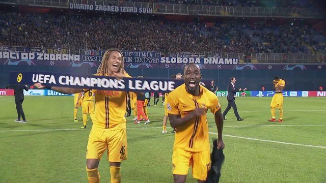 Ligue des Champions, barrages, Dinamo Zagreb - Young Boys (1-2): résumé du match [RTS]