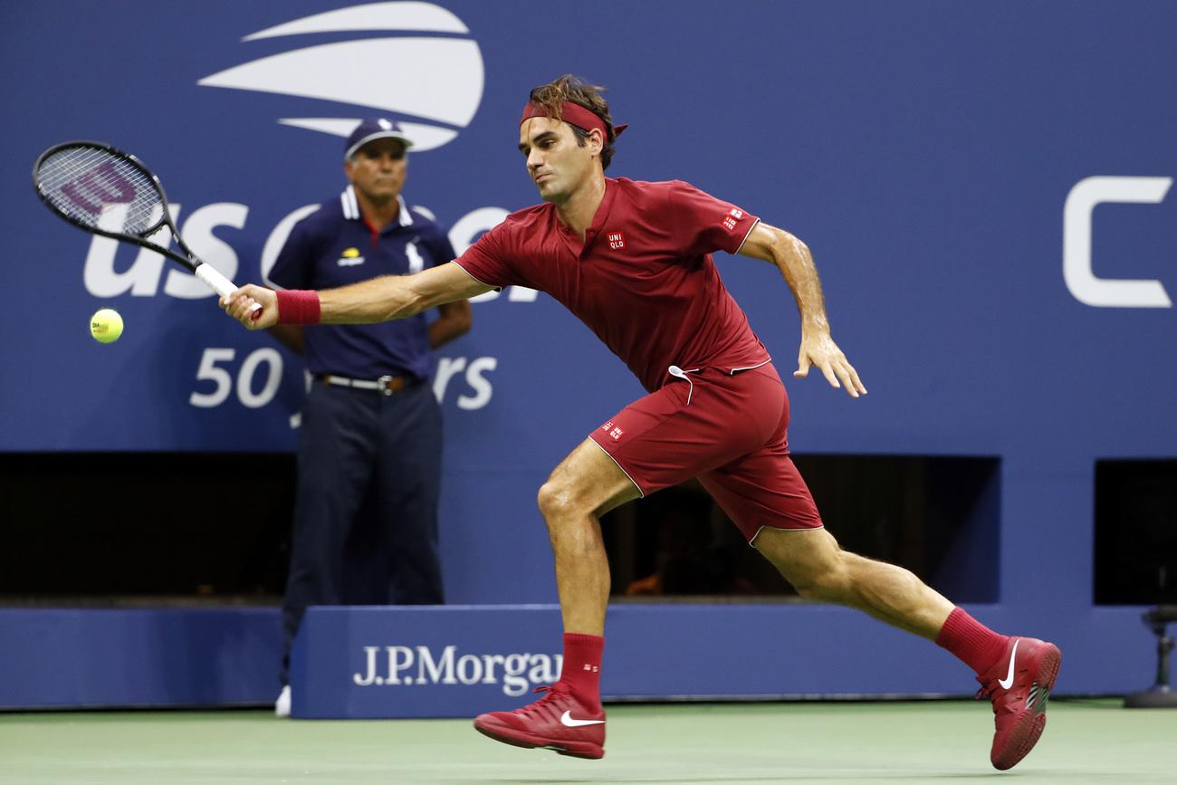 Paire s'offre un match de gala contre Federer — US Open
