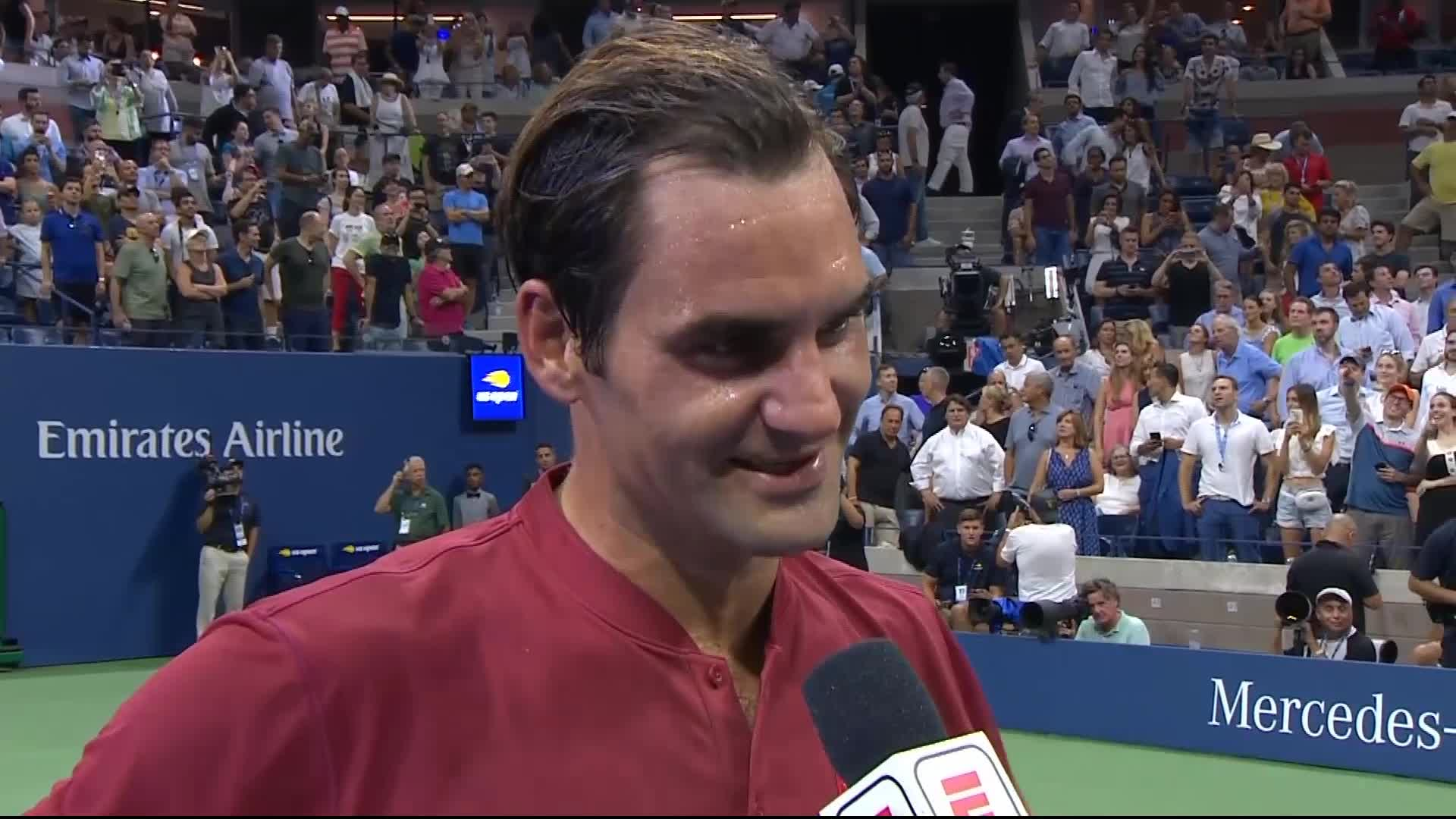 US Open: Paire a rendez-vous avec Federer