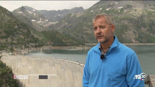 Les barrages hydroélectriques suisses profitent d'une conjoncture favorable. Chances et défis de cette technologie [RTS]