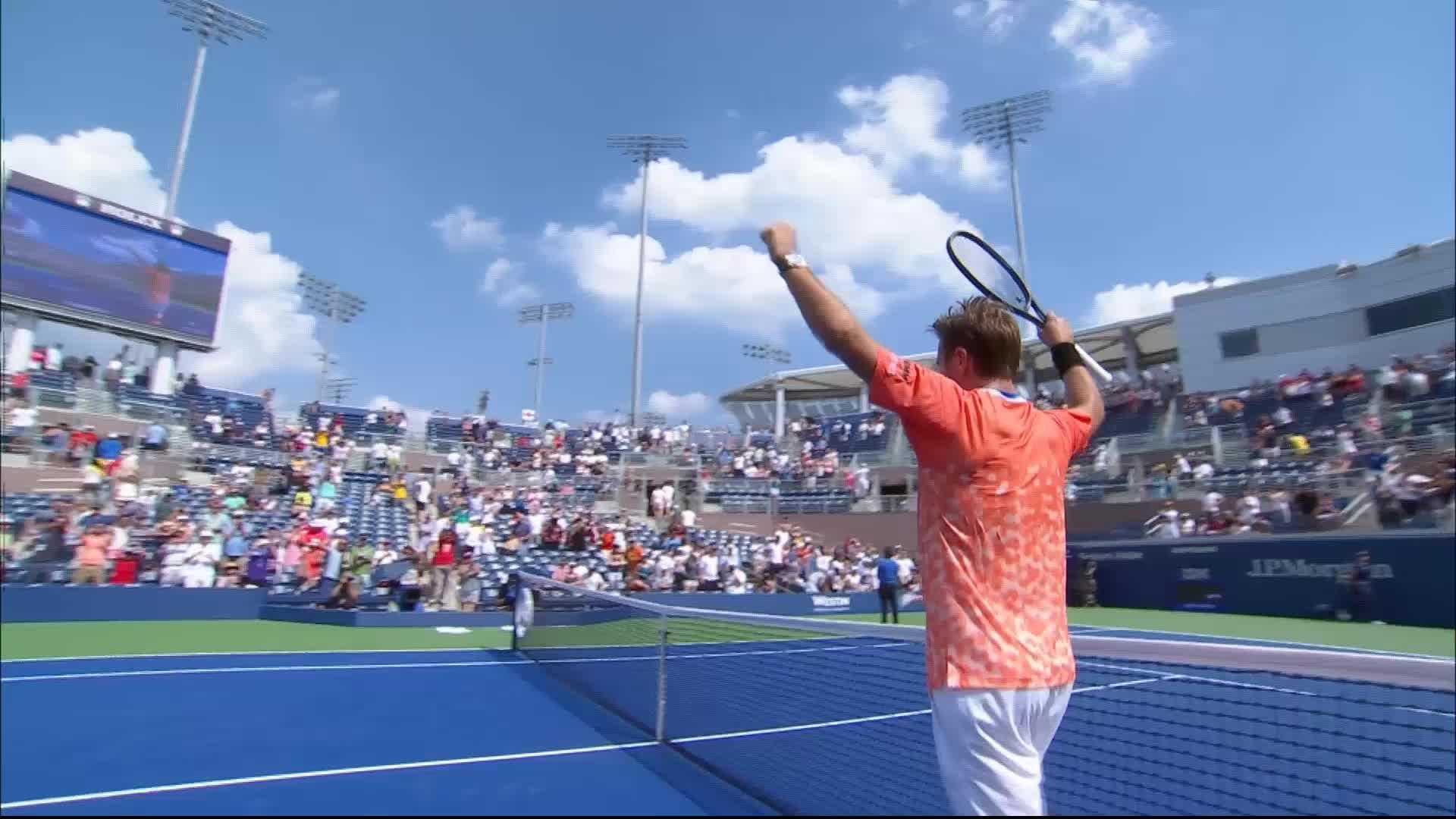 Humbert ne veut pas s'arrêter là — US Open (H)