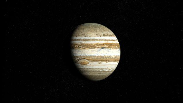 La planète Jupiter est la plus grande de notre système solaire. Fox Fotolia [Fox - Fotolia]