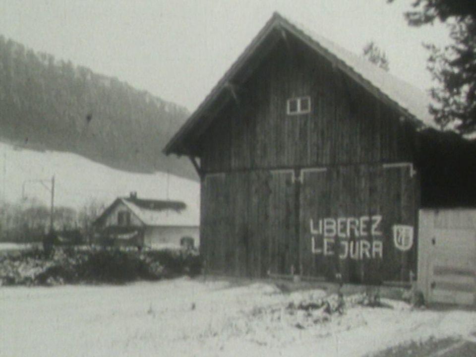 Le Front de libération du Jura apparaît en 1963. [RTS]
