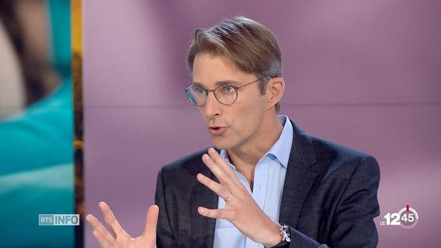 Rendez-vous société: Prof. Raphaël Heinzer, Directeur du centre de recherche sur le sommeil au CHUV. [RTS]