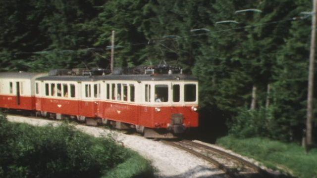 Le petit train Yverdon - Sainte-Croix [RTS]