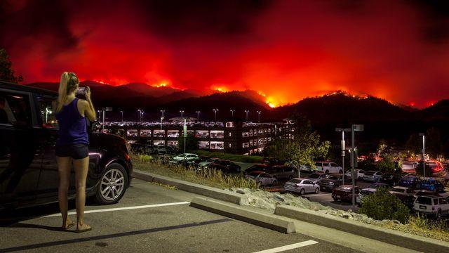 Les experts évoquent notamment des sécheresses et des incendies toujours plus fréquents, notamment dans le Sud-Ouest des Etats-Unis. [Peter Dasilva - EPA/Keystone]