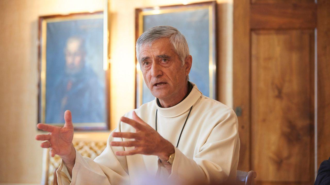 Monseigneur Jean Marie Lovey, évêque du diocèse de Sion. [Sedrik Nemeth - Keystone]