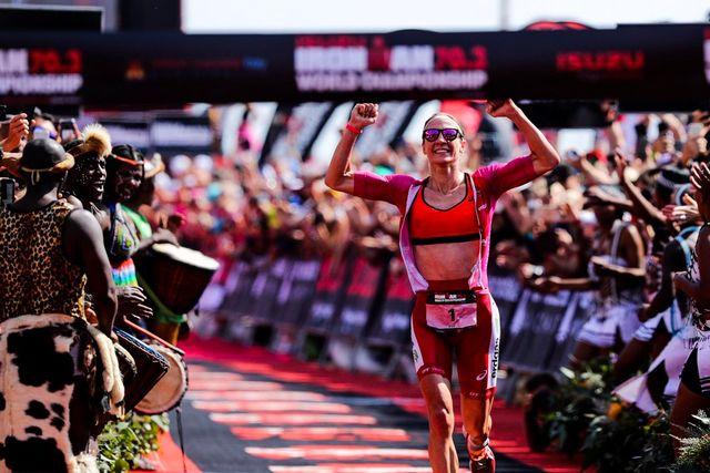 Daniela Ryf est la triathlète la plus couronnée de l'histoire en semi-Ironman. [Twitter - Daniela Ryf]