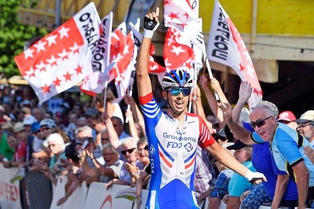 Steve Morabito est champion de Suisse en titre. [Walter Bieri - Keystone]