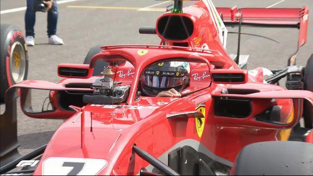 GP d'Italie (#13), Q3: Raikkonen (FIN) en pôle devant Vettel (GER) et Hamilton (GBR) [RTS]