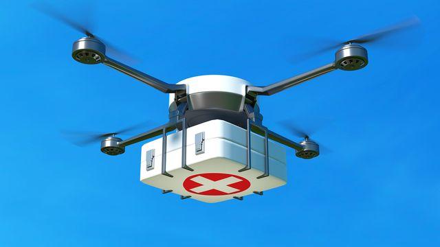 Les drones peuvent avoir des utilisations médicales. Robert Bednarik Fotolia [Robert Bednarik - Fotolia]