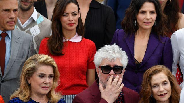Catherine Deneuve, Pedro Almodovar, Isabelle Huppert et Juliette Binoche, signataires de l'appel [Alberto Pizzoli - AFP]