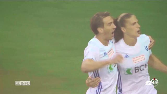 En football, Lausanne-Sport remporte le derby lémanique contre Servette en Challenge League. [RTS]