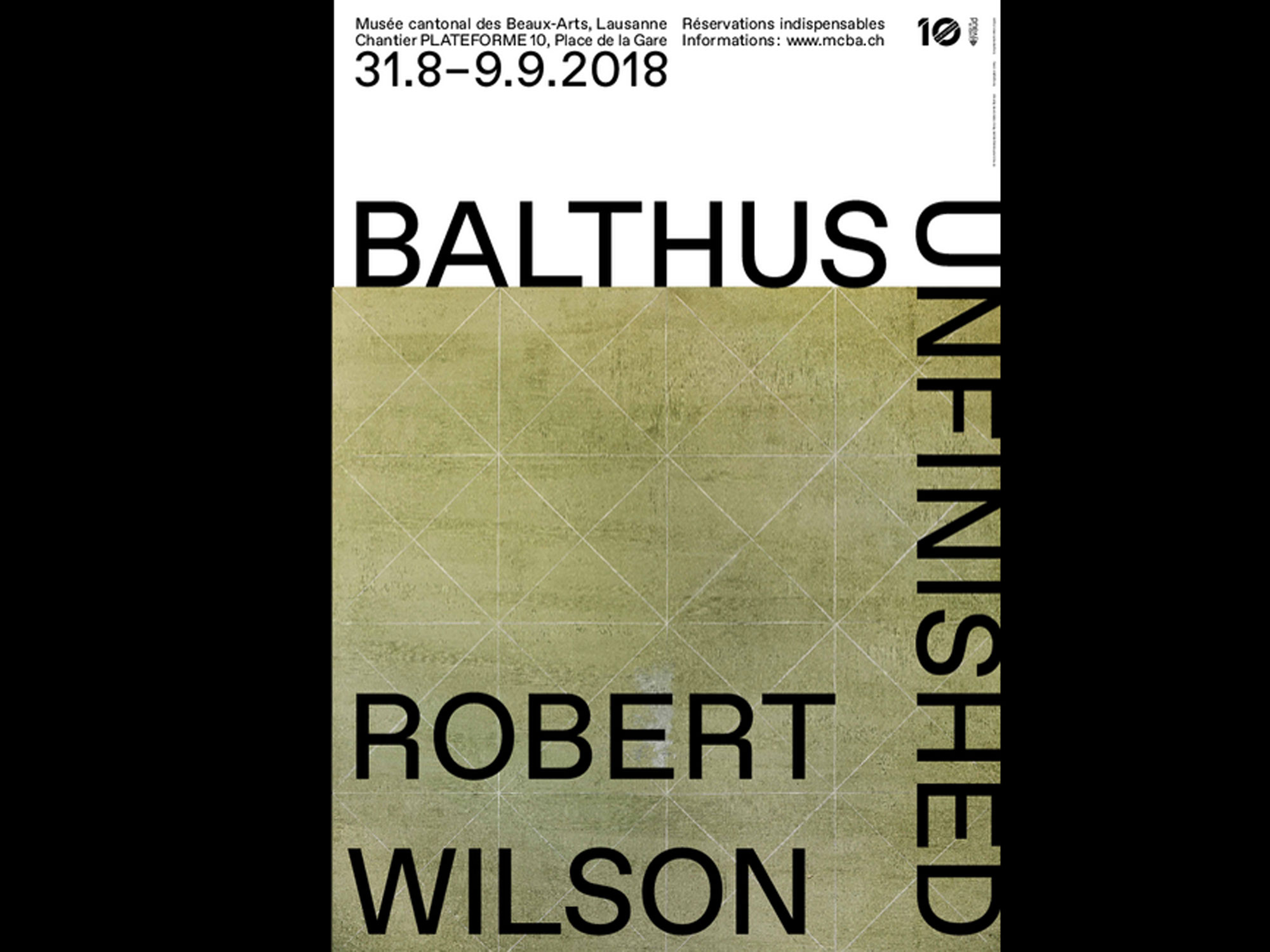 "L'affiche de l'exposition ""Balthus Unfinished""."