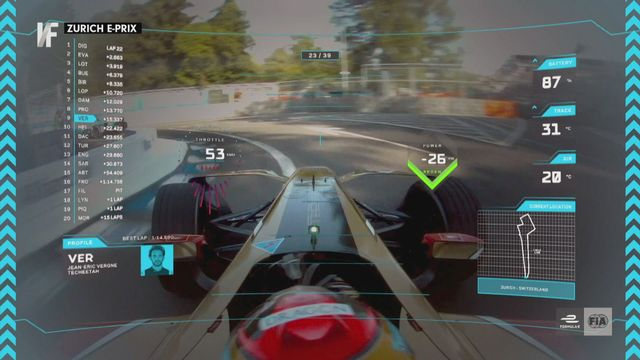 Décryptage - la Formule E n'est pas la petite soeur de la Formule 1, c'est un concept totalement différent [RTS]