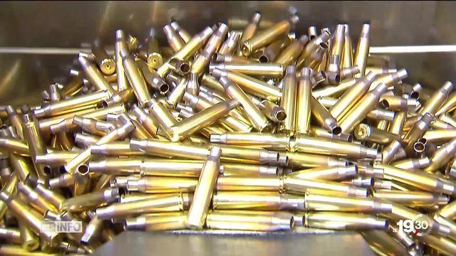 Le Contrôle fédéral des finances publie un rapport qui met en cause la surveillance des exportations d'armes. [RTS]
