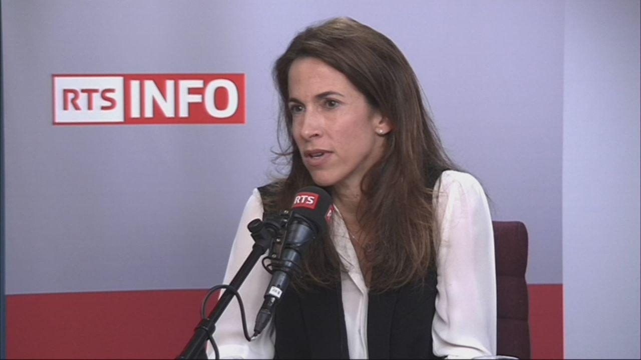 L'invitée de Romain Clivaz (vidéo) - Aude Pugin, présidente de la Chambre vaudoise de commerce et de l'industrie [RTS]
