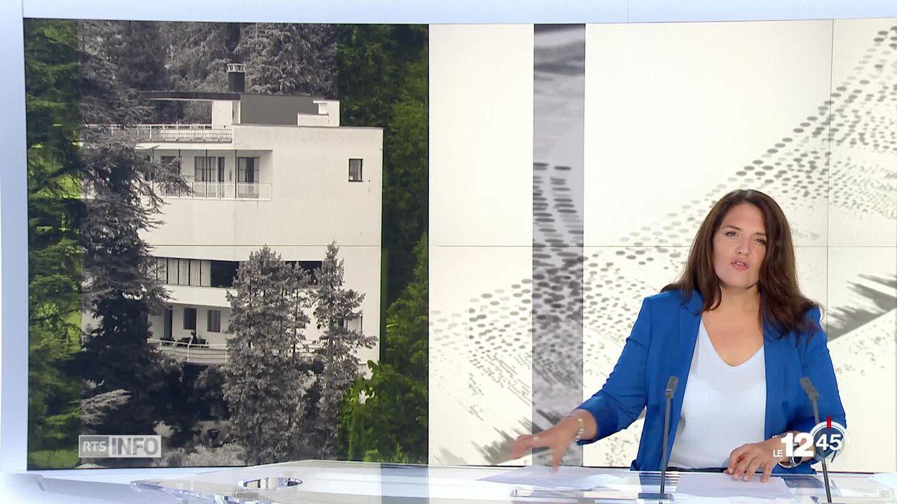 A la Tour de Peilz, un chef-d'oeuvre du mouvement Bauhaus a été sauvé grâce à la passion de l'architecte Giovanni Pezzoli. [RTS]