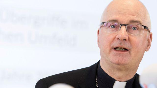 Mgr Charles Morerod, président de la Conférence des évêques suisses. [Ennio Leanza - Keystone]
