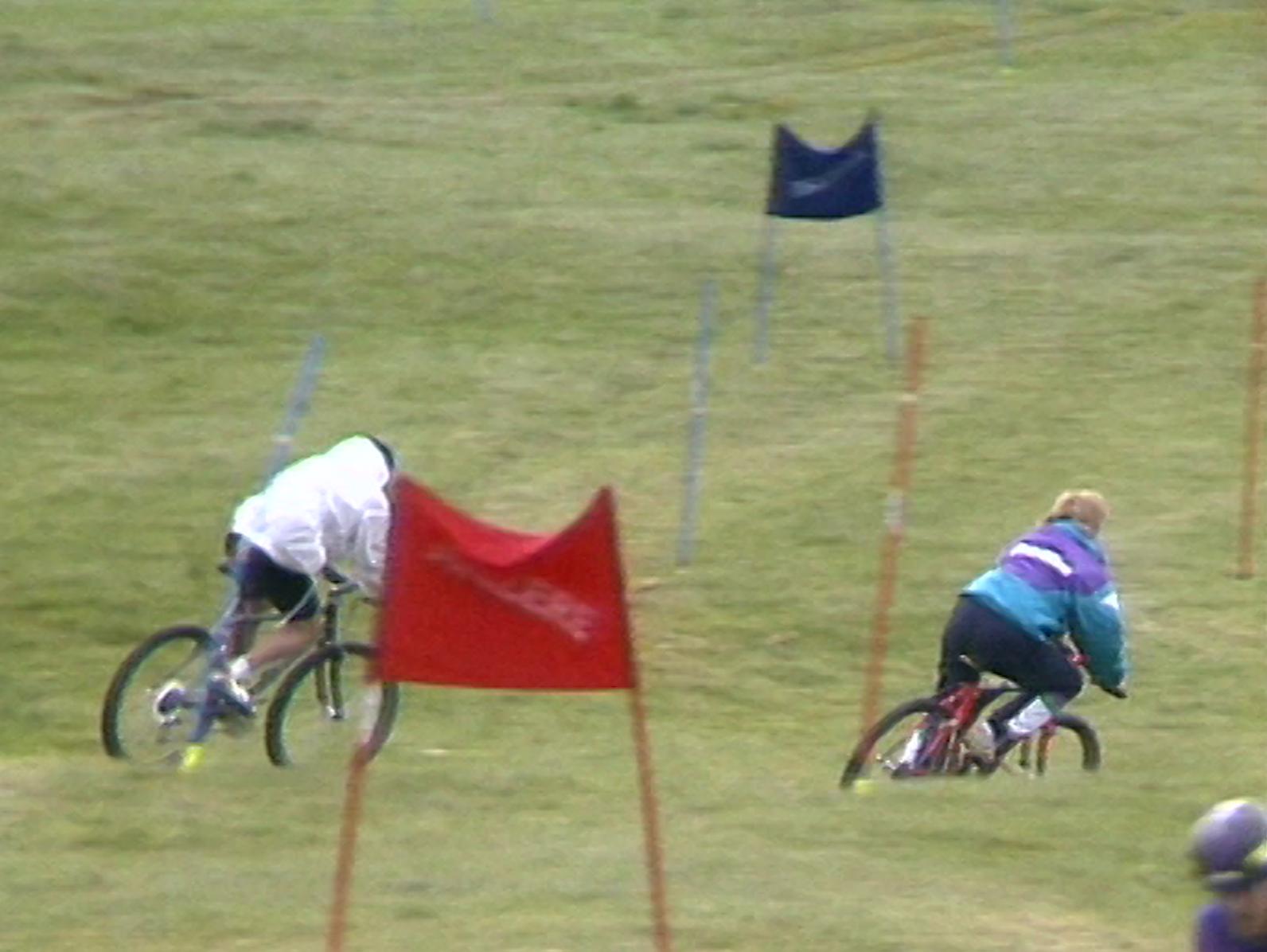 Les skieurs suisses s'entraînent...