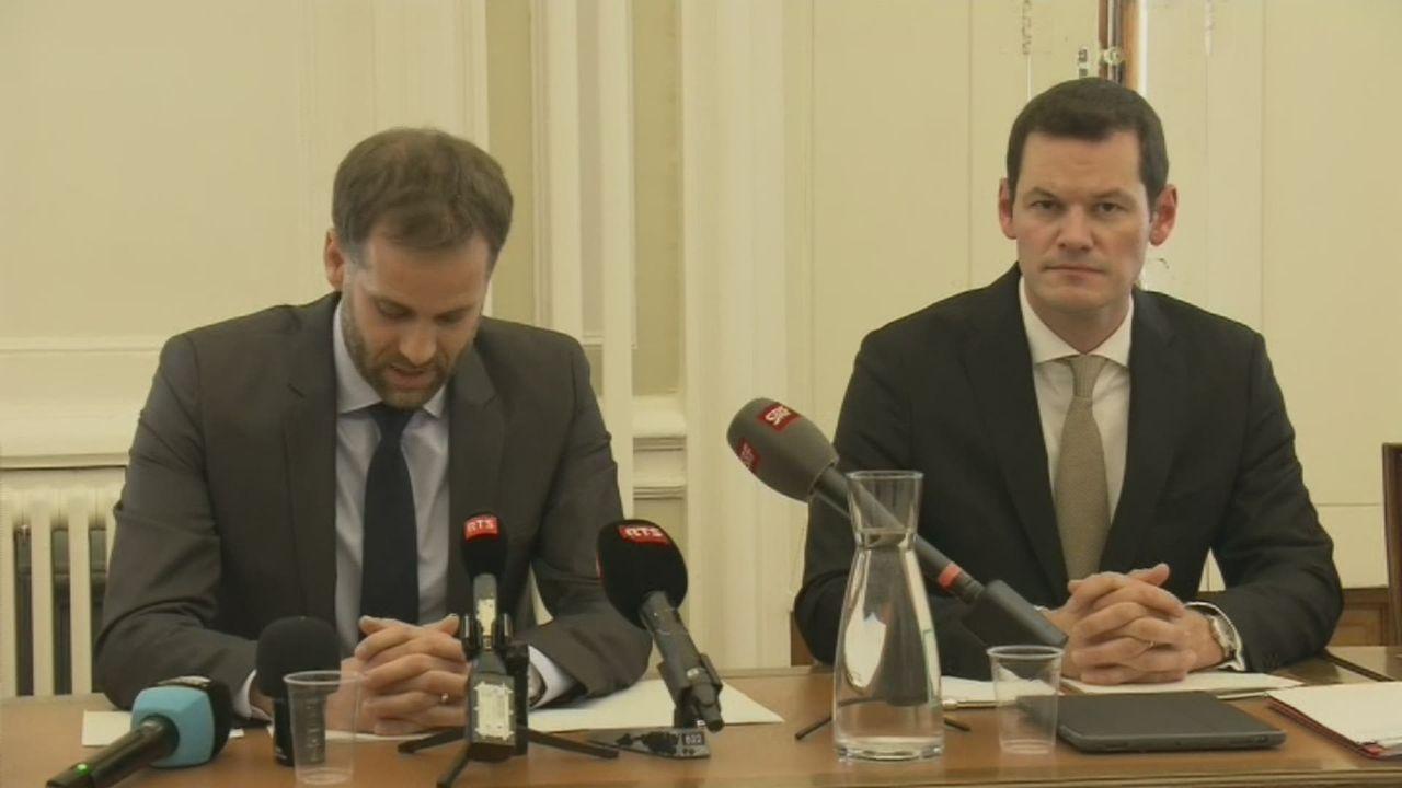 Pierre Maudet perd certaines prérogatives au gouvernement genevois [RTS]