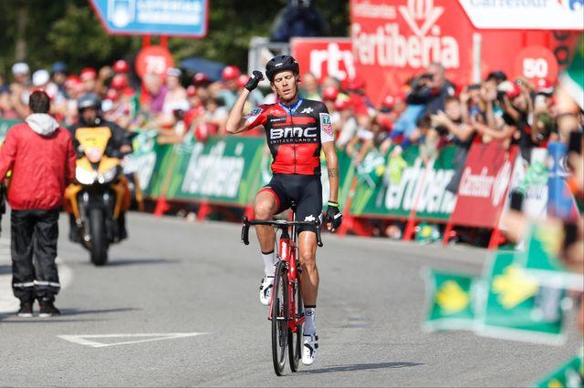 Le Frioulan de 32 ans avait déjà cueilli des bouquets sur la Vuelta. [Yuzuru Sunada - AFP]