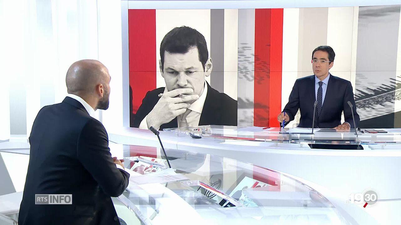 """Fabiano Citroni """"Le mensonge est au coeur de cette affaire. Pierre Maudet va le traîner comme un boulet."""" [RTS]"""