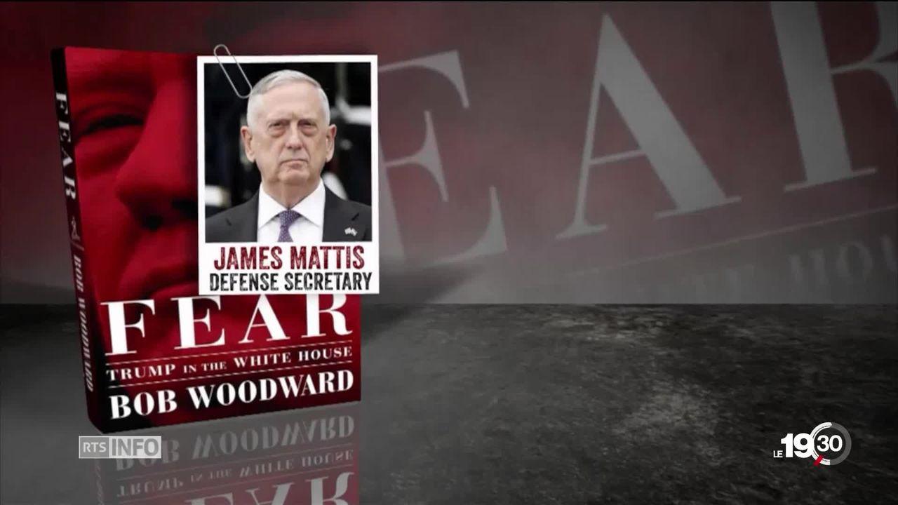 Sortie du livre de Bob Woodward, une légende du journalisme: il révèle un fonctionnement chaotique de la Présidence Trump. [RTS]