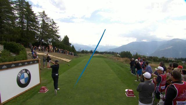 Golf- European Masters de Crans-Montana: Maximilian Kieffer (ALL) en tête après la première journée [RTS]