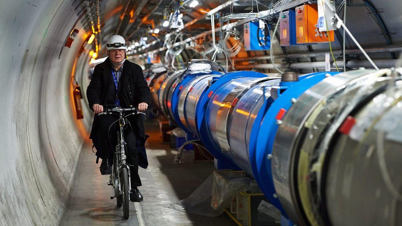 Le grand collisionneur de hadrons (LHC) du CERN est situé sous la frontière franco-genevoise. [Adam Warzawa - EPA/Keystone]