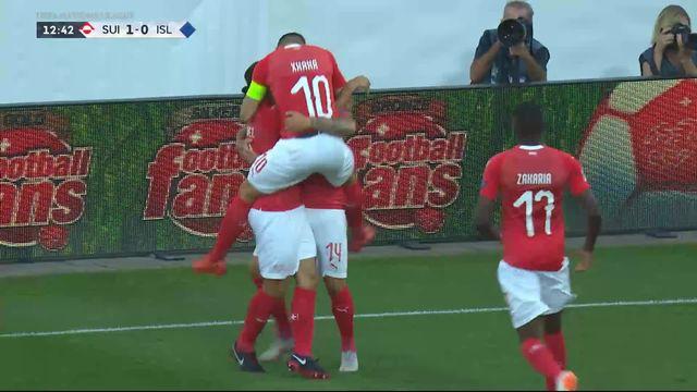 Gr.2, Suisse – Islande (1-0): Zuber ouvre le score d'une frappe imparable [RTS]