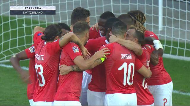 Gr.2, Suisse – Islande (2-0): Zakaria inscrit le deuxième but dans la cage vide [RTS]