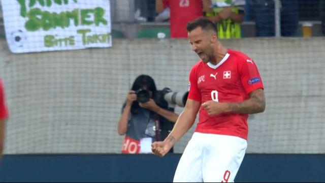 Gr.2, Suisse – Islande (4-0): 67e, Seferovic aggrave le score sur un service magnifique de Schär [RTS]