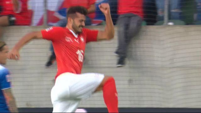 Gr.2, Suisse – Islande (5-0): 71e, Ajeti marque pour sa première sélection [RTS]