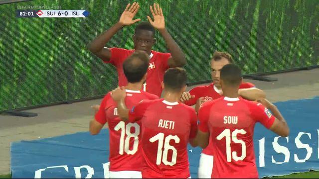 Gr.2, Suisse – Islande (6-0): tous les buts du match [RTS]
