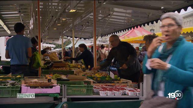 """Initiative """"pour des aliments équitables"""" : Les adversaires du texte craignent une hausse des prix. [RTS]"""