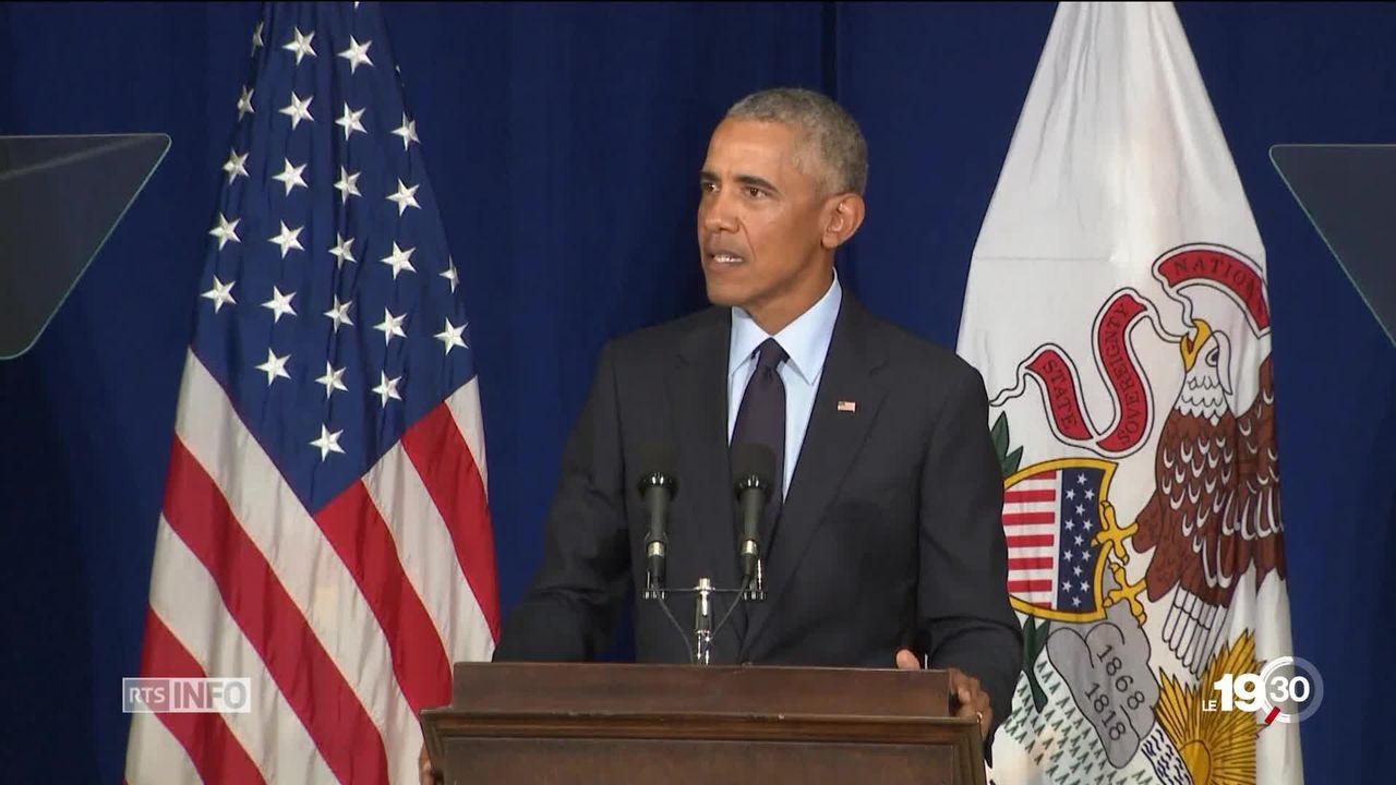 Come-back fracassant sur la scène politique américaine. A deux mois des élections de mi-mandat, Obama passe à l'offensive. [RTS]