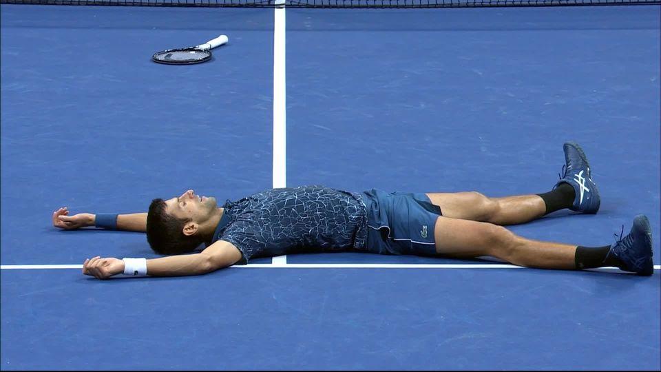 Finale messieurs, J.-M.Del Potro (ARG) - N.Djokovic (SRB) (3-6, 6-7, 3-6): Djokovic est de retour au plus haut niveau [RTS]