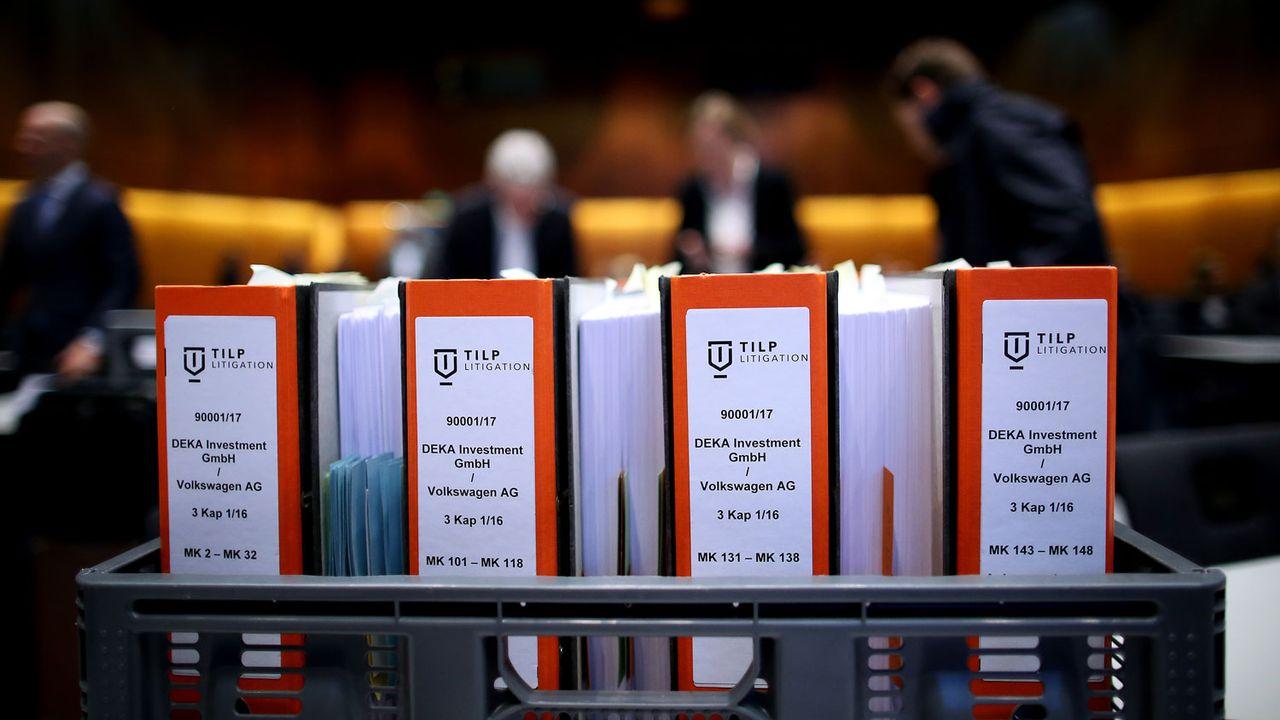 Volkswagen affronte depuis lundi son premier procès majeur en Allemagne dans le cadre du dieselgate. [Ronny Hartmann - AFP]